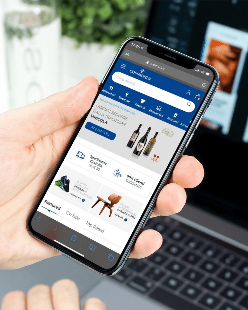 Smartphone Communi Mockup