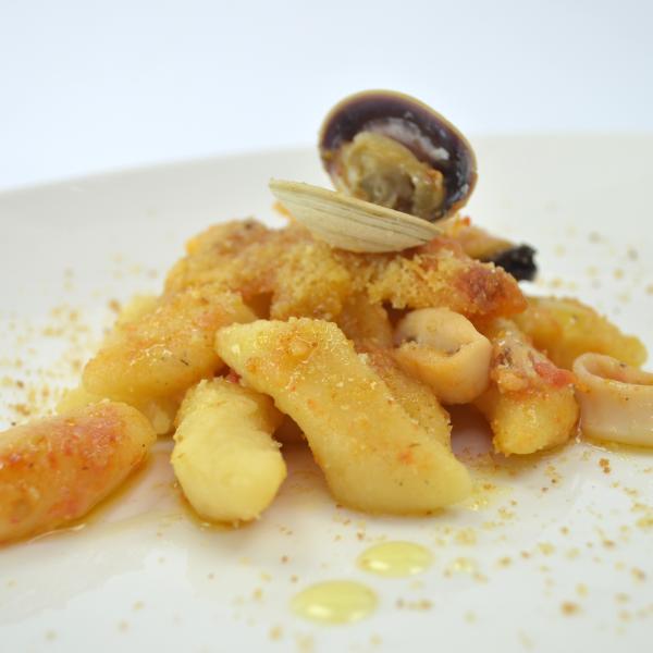 Gnocchi di pesce al forno - Mugnaia di Elice - Communi