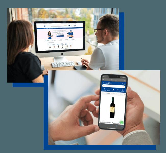 Mockup Communi smartphone