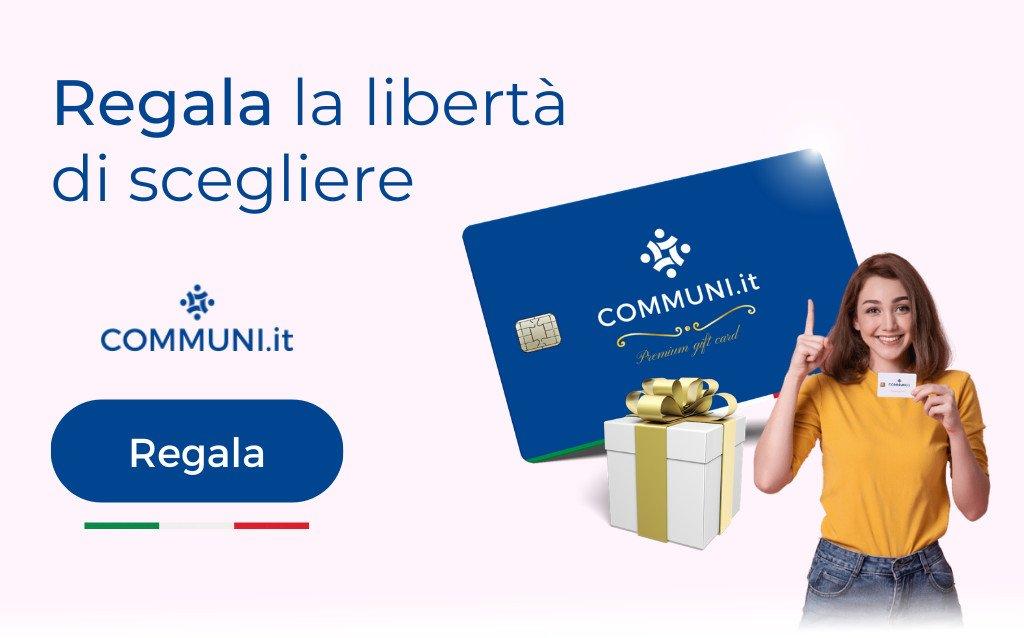 Banner gift card Communi