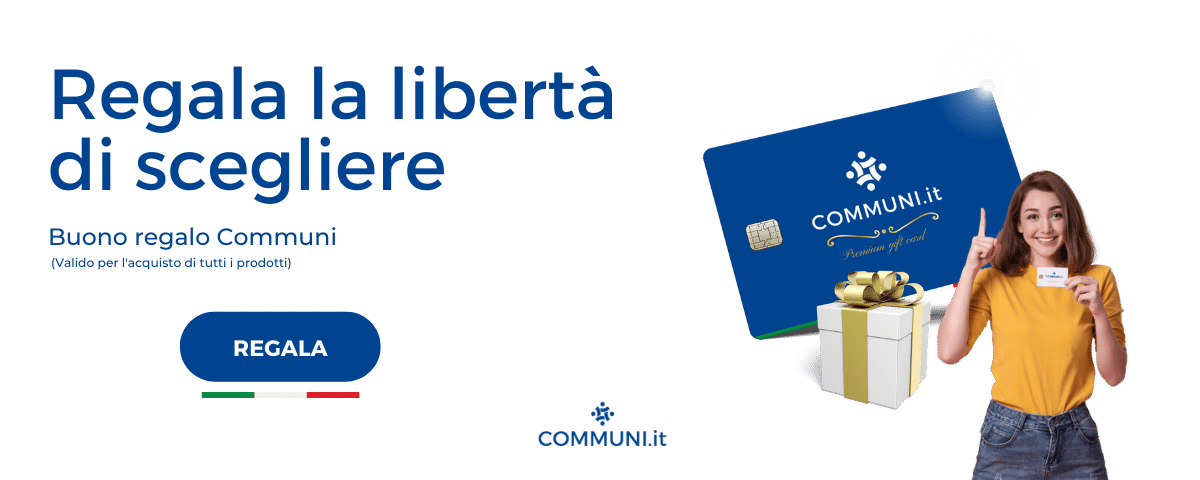 Banner premium gift card Communi
