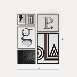 quadri alfabeto - Di Petima - Communi