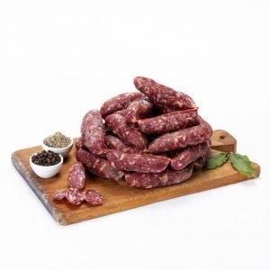 salsiccia di carne stagionata - Macelleria Il Boschetto - Communi