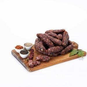 salsiccia di fegato stagionata - Macelleria Il Boschetto - Communi