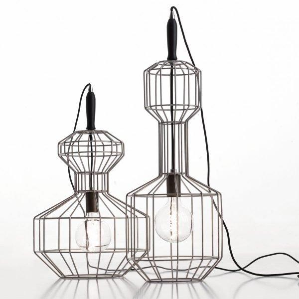 lampadario gabbia - Di Petima - Communi