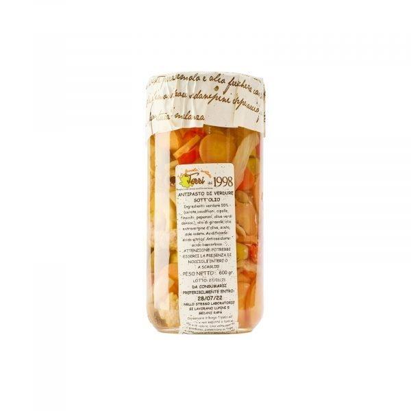 antipasto verdure Ferri - Nonna Ersilia - Communi